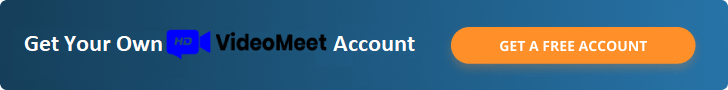 Video meeting app free account